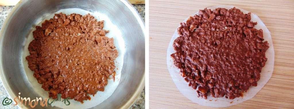Crêpes Dentelles si Crocant pralinat de ciocolata e