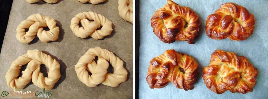 Soft Croissant Style Sweet Bagels c
