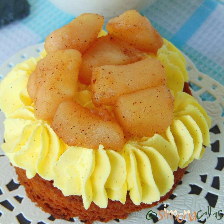 Tarte cu mere si vanilie – Prajitura cu mere, vanilie si scortisoara