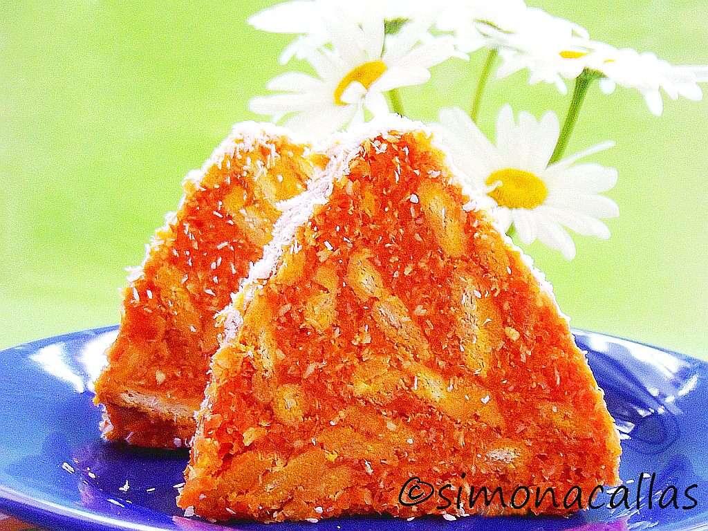 Vegan No-Bake Biscuit Salami Dessert 3
