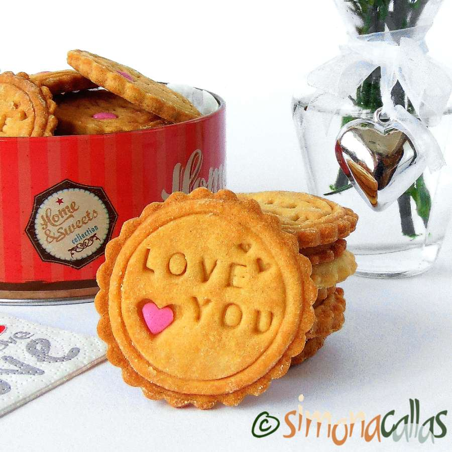 Peanut Butter Stamped Cookies – a delicious recipe