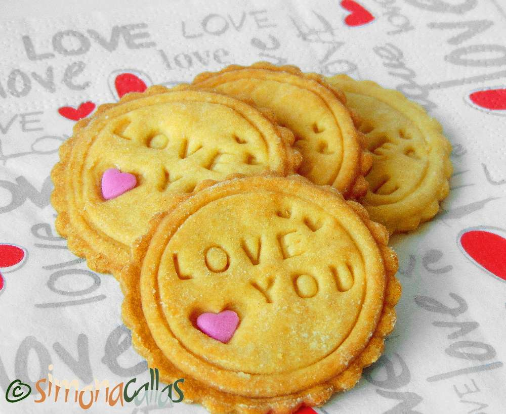 Peanut Butter Stamped Cookies