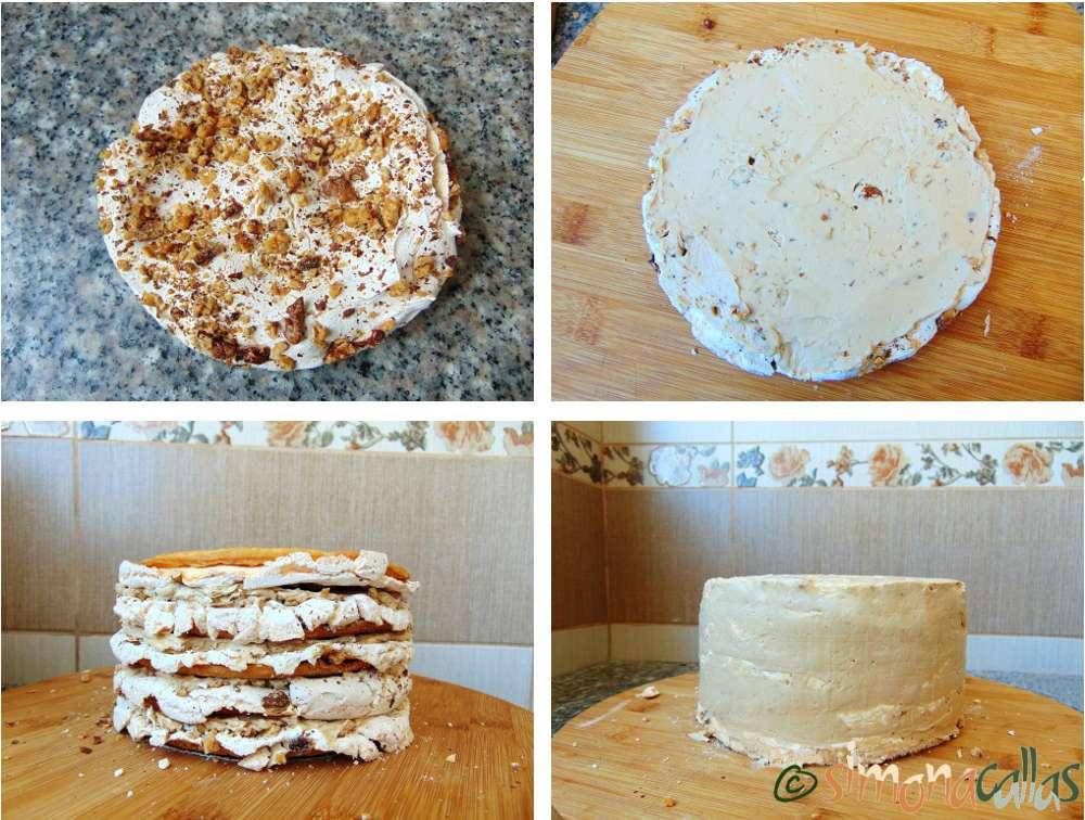 Tort Marchiza cu bezea si nuca