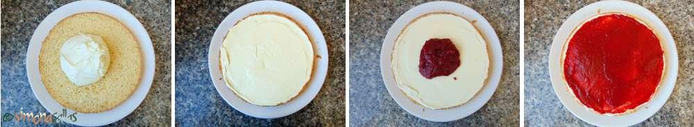 Tort cu ciocolata alba si capsune