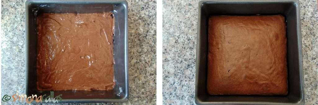 Blat tort pandispan pufos cacao