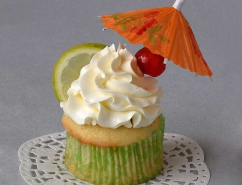 Margarita Cupcakes recipe (with limes, tequila, triple sec)