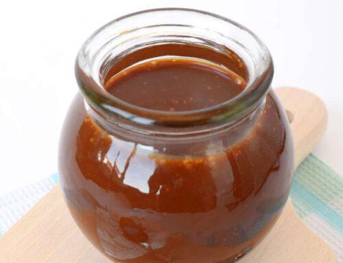 Sos de caramel preparat in casa – simplu si delicios
