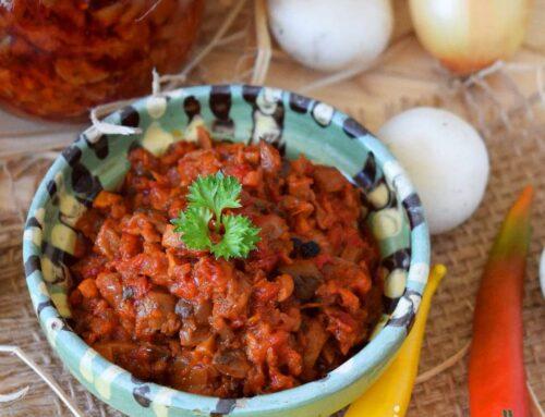 Zacusca de ciuperci – cum se face zacusca gustoasa