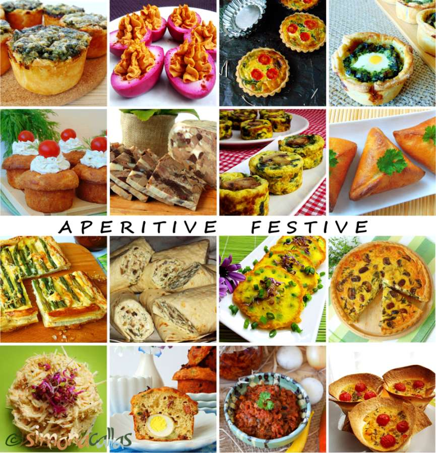 Aperitive festive Gustari deosebite Idei si retete