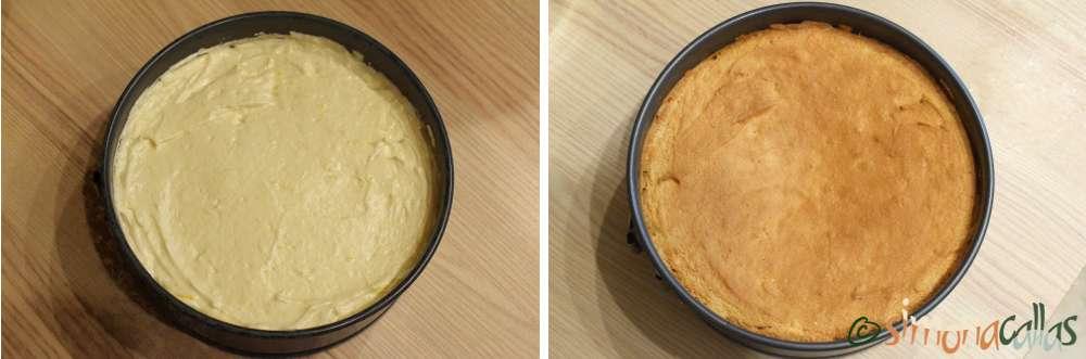 Tort simplu cu frisca si capsune