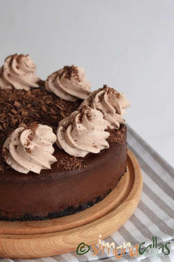 Cheesecake de ciocolata