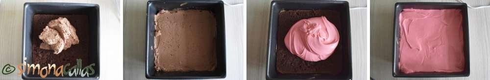 Prajitura Pionier cu ciocolata si zmeura