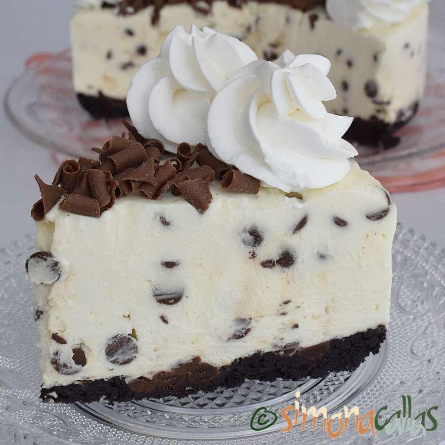 Cheesecake cu ciocolata cremos fara coacere