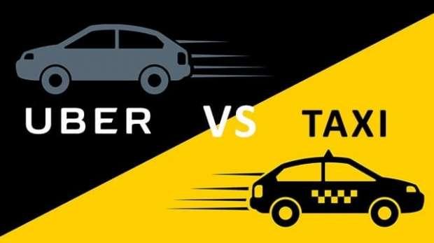 Taximetristi versus Uber si Taxify