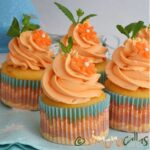 Cupcakes cu caise – un desert simplu si elegant