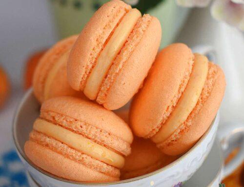 Macarons cu caise – un deliciu rafinat