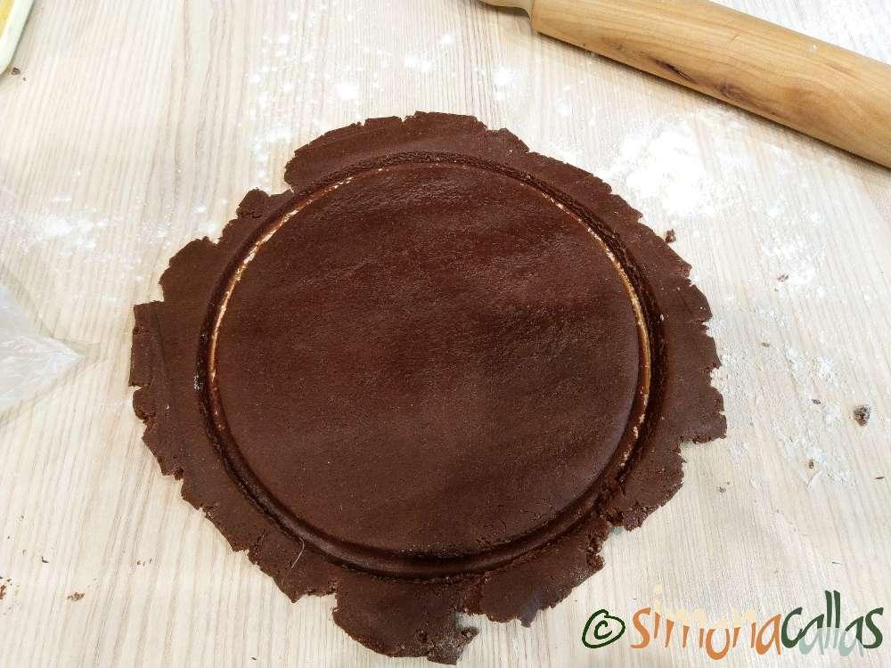 Biscuit sable breton cu ciocolata