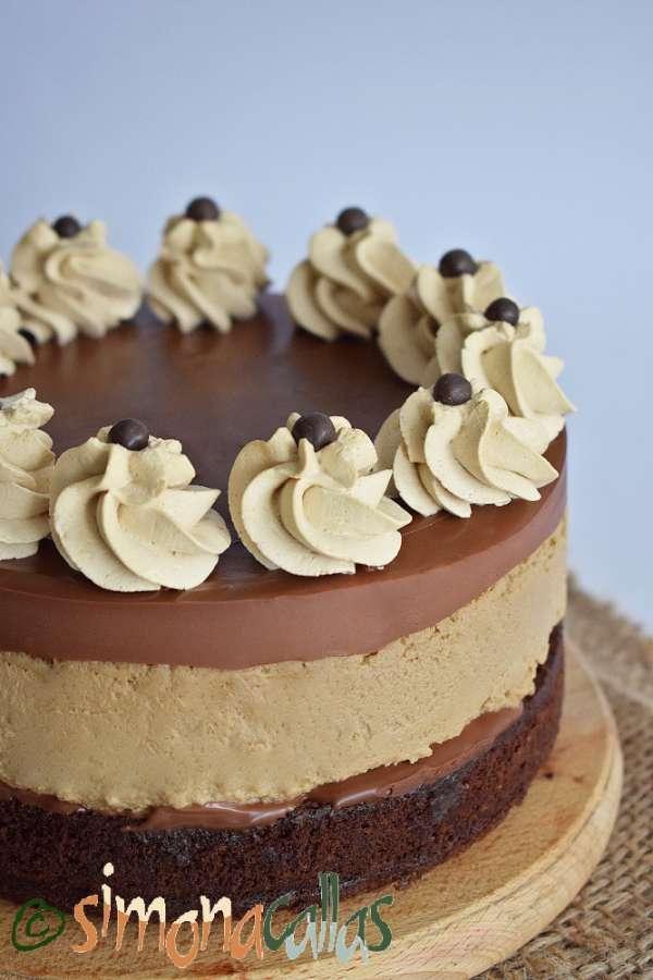Cheesecake cu cafea si ciocolata
