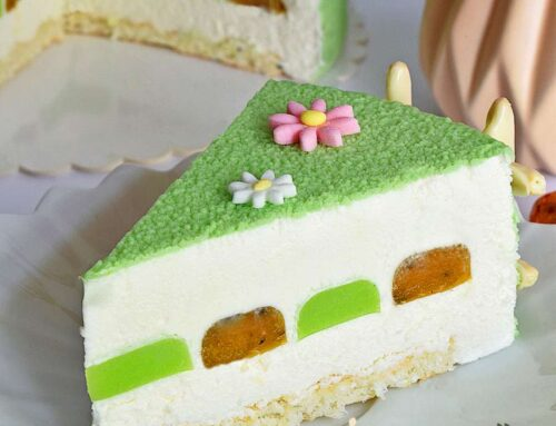 Entremet cu maracuja lime si cocos