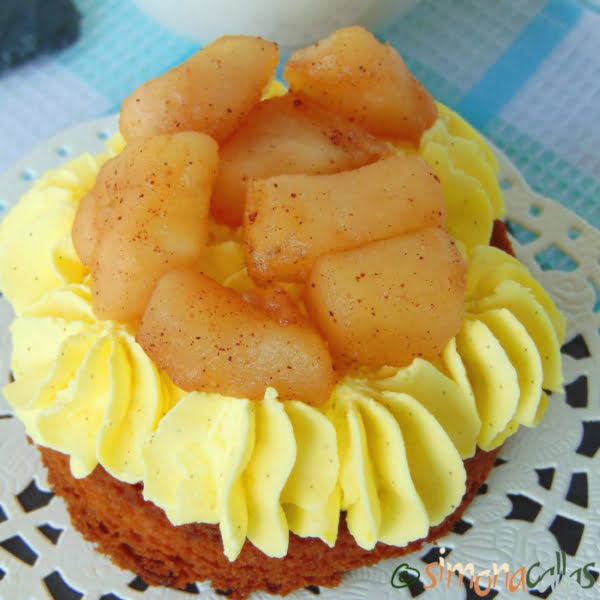 Tarte cu mere si vanilie
