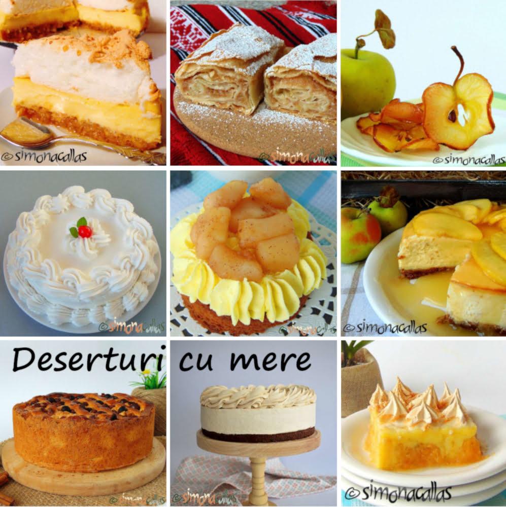 Deserturi cu mere by Simona Callas