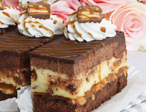 Snickers Cheesecake by Simona Callas