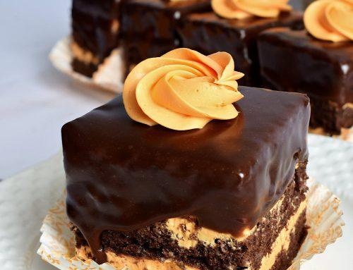 Amandine cu portocale – o prajitura de cofetarie