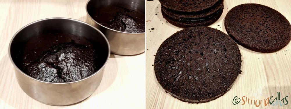 Blat negru umed cafea cacao