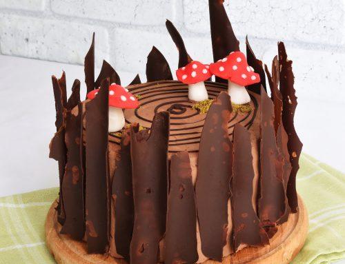 Tort spirala cu ciocolata simplu si delicios