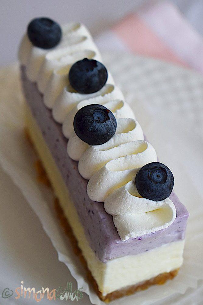 Easy No Bake Blueberry Cheesecake Bars